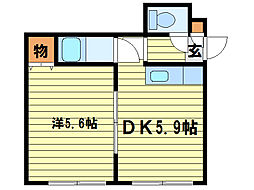 リラハイツ(澄川1-3)[3階]の間取り