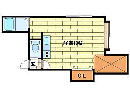 ルミエール真駒内[2階]の間取り