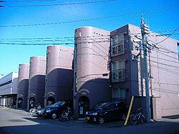 北海道札幌市南区澄川三条1丁目の賃貸マンションの外観