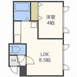 S-ing 2nd[2階]の間取り