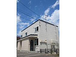 [テラスハウス] 北海道札幌市南区石山二条5丁目 の賃貸【/】の外観