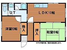 中野ハウス[2階]の間取り