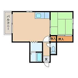 ノースハイム21[2階]の間取り