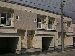 [テラスハウス] 北海道恵庭市美咲野3丁目 の賃貸【北海道 / 恵庭市】の外観