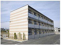 広島県福山市御幸町大字上岩成の賃貸アパートの外観