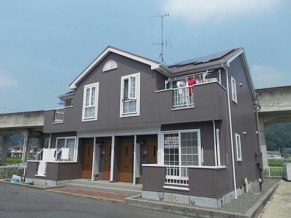 広島県福山市神辺町字上御領の賃貸アパート