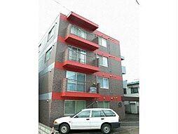 北海道札幌市中央区南十四条西9丁目の賃貸マンションの外観