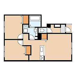 仮)美園5条3丁目新築AP 1号地[1階]の間取り