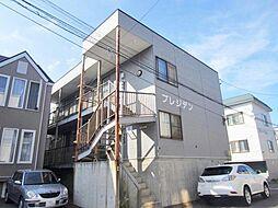 北海道札幌市北区新川五条2丁目の賃貸アパートの外観