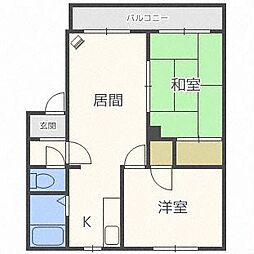 セレクトハウス711[2階]の間取り