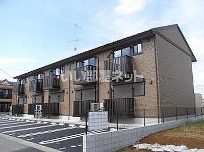 外観,1LDK,面積33.39m2,賃料5.7万円,つくばエクスプレス みらい平駅 徒歩4分,,茨城県つくばみらい市陽光台4丁目
