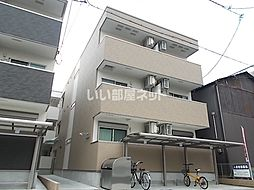 近鉄南大阪線 針中野駅 徒歩12分の賃貸アパート