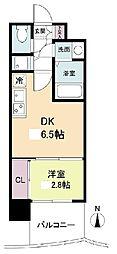 セレニテ日本橋プリエ 9階1DKの間取り