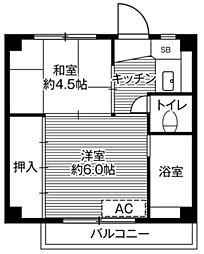 🉐敷金礼金0円!🉐ビレッジハウス白銀2号棟