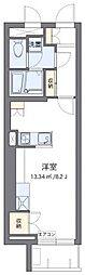 東京メトロ副都心線 北参道駅 徒歩5分の賃貸マンション 2階ワンルームの間取り