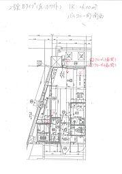 福岡市地下鉄箱崎線 呉服町駅 徒歩13分の賃貸マンション 14階1Kの間取り