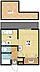 間取り,1K,面積21.4m2,賃料3.9万円,JR長崎本線 長崎駅 バス19分 棚荷尾下車 徒歩1分,長崎電気軌道1系統 茂里町駅 バス15分 棚荷尾下車 徒歩1分,長崎県長崎市三原2丁目