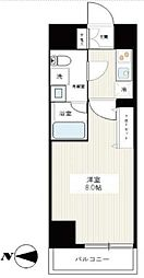MA-RO SENJU CREST TAPP(マーロセンジュクレストタップ) 3階1Kの間取り