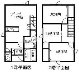 東光4−6新築戸建 1階3LDKの間取り