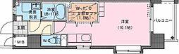Riviere Champ 宮田町 6階ワンルームの間取り