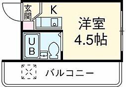 上野毛駅 4.1万円