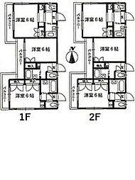 京急本線 屏風浦駅 徒歩10分の賃貸アパート 1階1Kの間取り