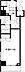 間取り,1K,面積28.22m2,賃料7.2万円,小田急江ノ島線 湘南台駅 徒歩4分,相鉄いずみ野線 湘南台駅 徒歩4分,神奈川県藤沢市湘南台2丁目