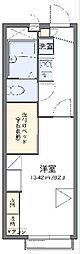 JR東海道本線 静岡駅 バス30分 井庄下車 徒歩3分の賃貸アパート 2階1Kの間取り
