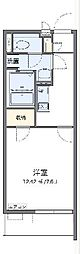 JR東北本線 白岡駅 徒歩23分の賃貸マンション 3階1Kの間取り