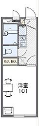 小田急小田原線 町田駅 バス15分 今井谷戸下車 徒歩4分の賃貸マンション 2階1Kの間取り