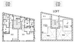京急本線 新馬場駅 徒歩2分の賃貸マンション 5階ワンルームの間取り