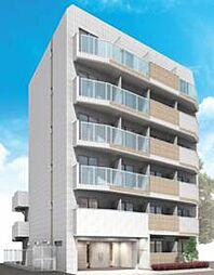 都営新宿線 西大島駅 徒歩7分の賃貸マンション 1階1Kの間取り