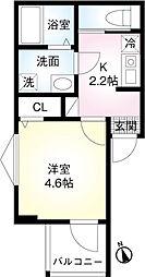 東武伊勢崎線 鐘ヶ淵駅 徒歩8分の賃貸アパート