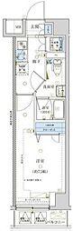 東京メトロ日比谷線 三ノ輪駅 徒歩7分の賃貸マンション 5階1Kの間取り