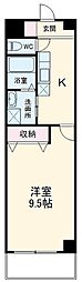 名鉄名古屋本線 名鉄岐阜駅 バス25分 島南公園前下車 徒歩5分の賃貸マンション 3階1Kの間取り