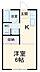 間取り,1K,面積23.18m2,賃料3.0万円,小田急小田原線 東海大学前駅 5.1km,,神奈川県平塚市公所