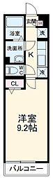 JR総武線 津田沼駅 徒歩22分の賃貸アパート 2階1Kの間取り