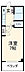 間取り,1K,面積23.48m2,賃料5.3万円,小田急江ノ島線 六会日大前駅 徒歩3分,,神奈川県藤沢市亀井野2丁目