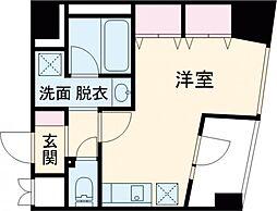 WiN・WiNマンション石神井公園 3階ワンルームの間取り