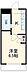 間取り,1K,面積18.36m2,賃料3.1万円,京福電気鉄道嵐山本線 有栖川駅 徒歩10分,JR山陰本線 太秦駅 徒歩12分,京都府京都市右京区嵯峨広沢南下馬野町