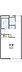 間取り,1K,面積20.28m2,賃料2.2万円,東武伊勢崎線 足利市駅 徒歩17分,,栃木県足利市通5丁目3197-7