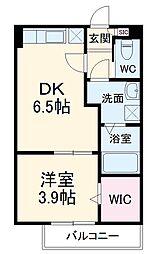 東葉高速鉄道 八千代緑が丘駅 徒歩5分の賃貸アパート 1階1DKの間取り