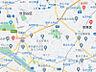 地図,1LDK,面積30.31m2,賃料11.8万円,東急田園都市線 桜新町駅 徒歩8分,,東京都世田谷区用賀3丁目