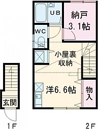 京王線 布田駅 徒歩5分の賃貸アパート