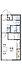 間取り,1K,面積23.18m2,賃料4.3万円,JR常磐線 赤塚駅 徒歩14分,,茨城県水戸市河和田1丁目1639-4