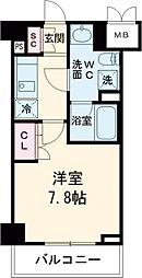 東急池上線 雪が谷大塚駅 徒歩5分の賃貸マンション 1階1Kの間取り