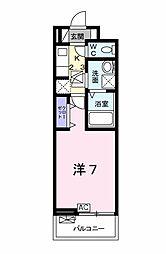 名鉄名古屋本線 名鉄岐阜駅 徒歩3分の賃貸アパート 1階1Kの間取り