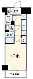 N-stage Fujisawa 1階1Kの間取り