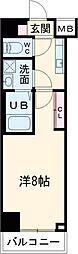 (仮称)レオーネ台東三ノ輪 11階1Kの間取り