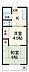 間取り,2K,面積29m2,賃料3.5万円,京急久里浜線 北久里浜駅 徒歩19分,,神奈川県横須賀市森崎4丁目